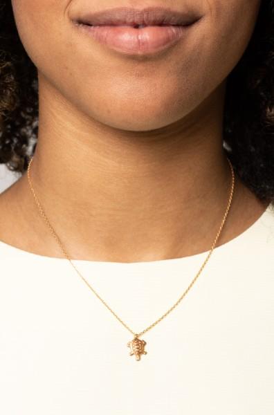 Necklace short turtle