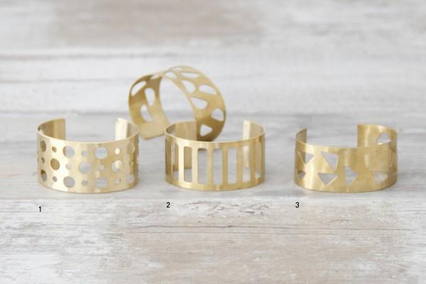 Cuff Bracelet Shapes