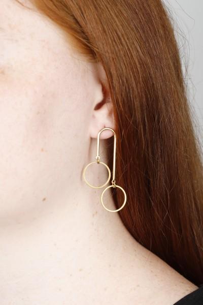Earring Stud Circles
