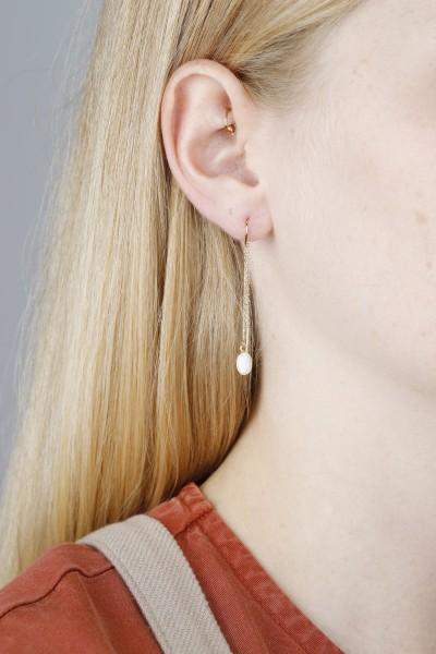 Earring Thread Opal
