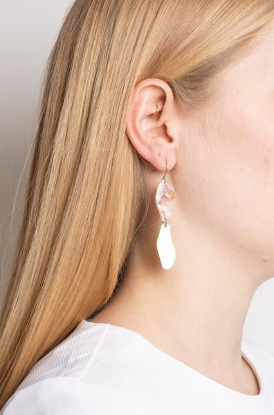 Earrings Acrylic drop