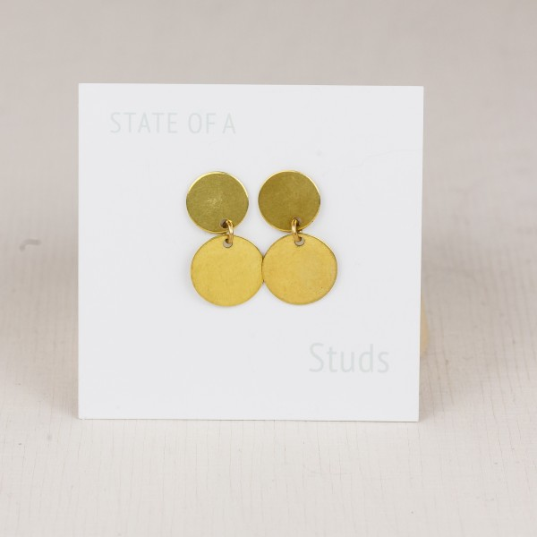Studs Double Circles