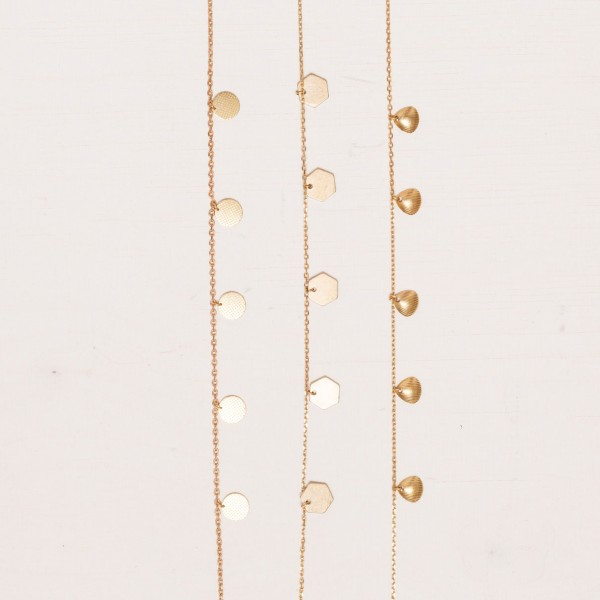 Anklet structured Circles