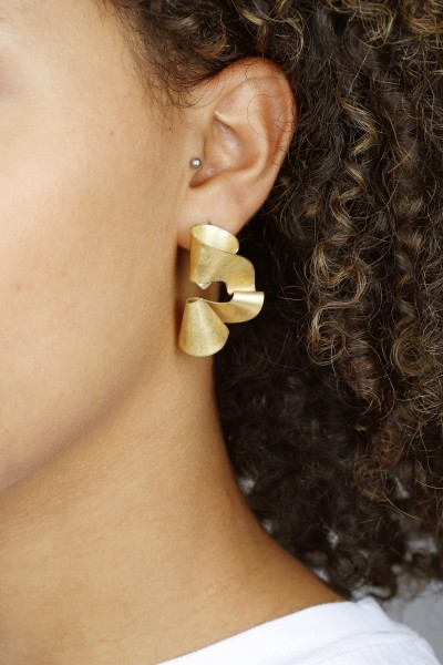Earring Stud the WAVE