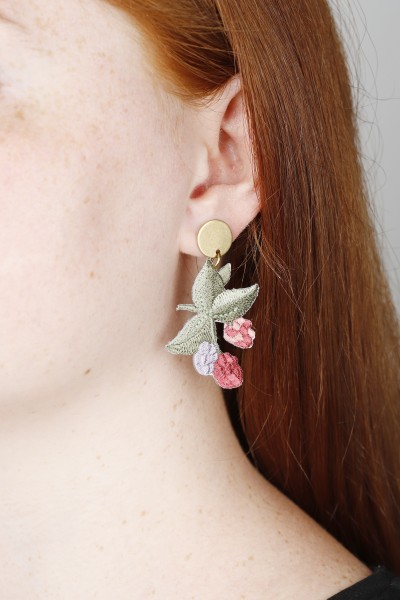 Earring Stud Flowers
