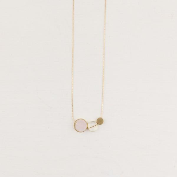 Necklace short Gem Circle