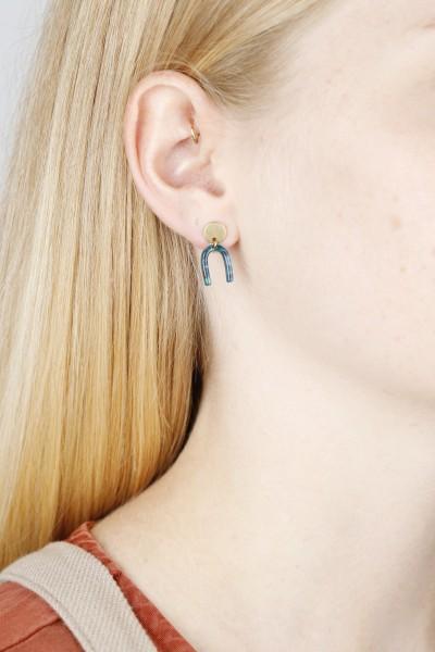 Earring Acrylic U-Shape